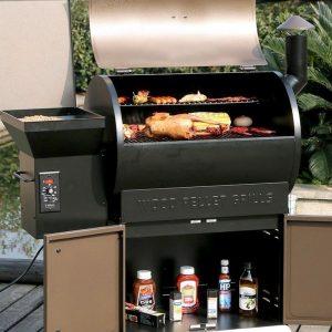 Z Grills Wood Pellet Grill (Model ZPG-700D)