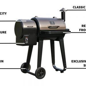 Z Grills Wood Pellet Grill (Model ZPG-450A)